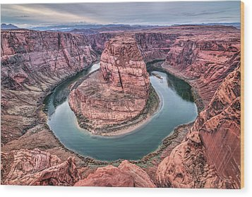 Horseshoe Bend Arizona Wood Print