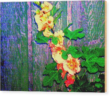 Hot Summer Afternoon Wood Print by  Connie Valasco
