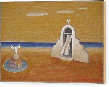 House Of Eros Wood Print by Dimitris Milionis