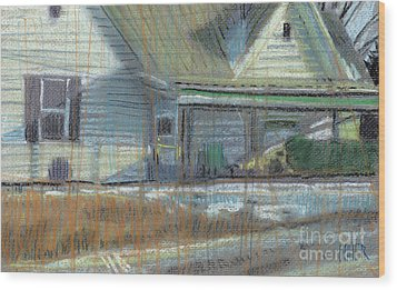 House On Cherokee Street Wood Print by Donald Maier