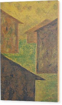 Houses Of 1954 Wood Print by Biagio Civale