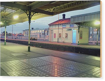 Hove Station Wood Print by Nigel Chaloner