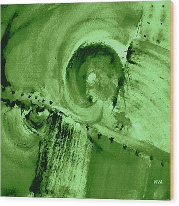 How Green Was My Valley Wood Print