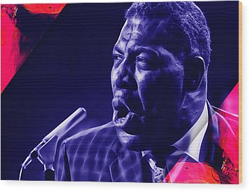 Howlin' Wolf Collection Wood Print
