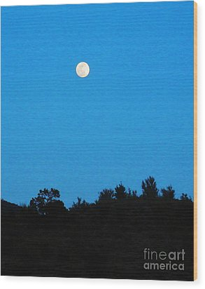 Hualapai Night Wood Print