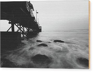 Huanchaco Pier Wood Print