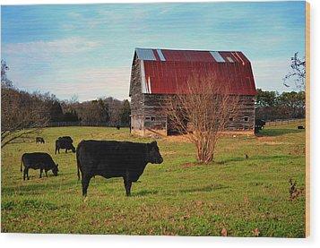 Huffacker Farm Wood Print