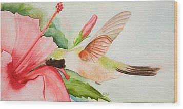 Hummin Wood Print