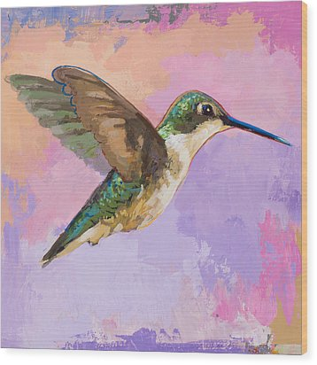 Hummingbird #2 Wood Print by David Palmer