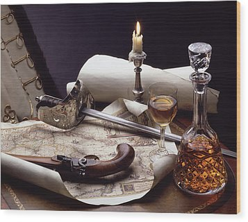 Huszar Wood Print by Steven Huszar