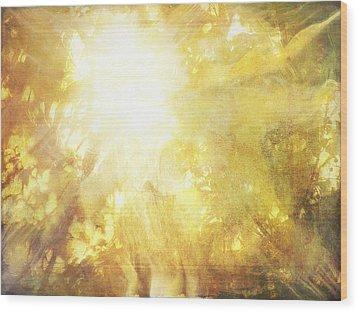 Hvis Lyset Tar Oss Wood Print