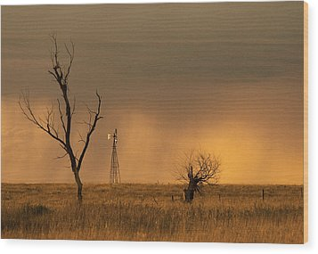 Wood Print featuring the photograph Hyde County by Don Durfee