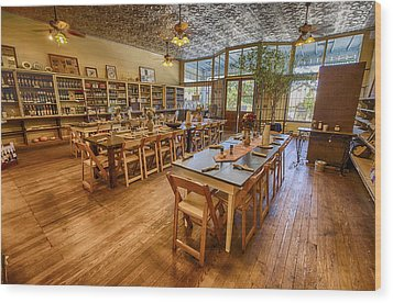 Hye Market General Store Wood Print