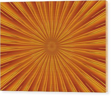 Wood Print featuring the photograph Hypnosis 5 by David Dunham