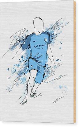 I Am Sky Blue #2 Wood Print