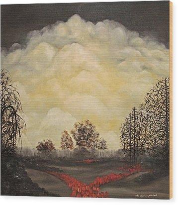 I Had A Dream Wood Print by John Stuart Webbstock