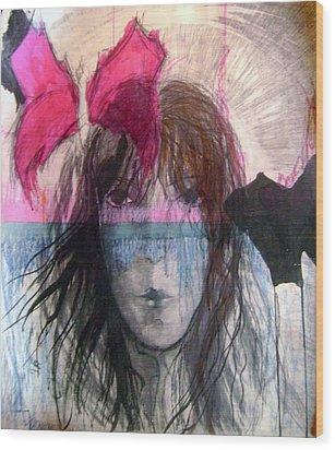 I Have In Head Confusion  Wood Print by Wojtek Kowalski