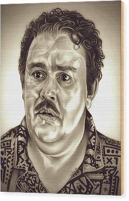 I Like Me Wood Print by Fred Larucci
