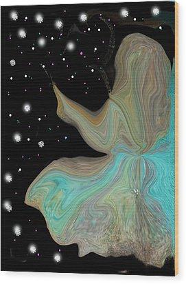 I Must Be In Heaven Wood Print by Sherri's Of Palm Springs