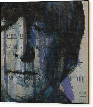 I Read The News Today Oh Boy  Wood Print by Paul Lovering