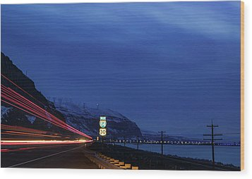 Wood Print featuring the photograph I84 by Cat Connor