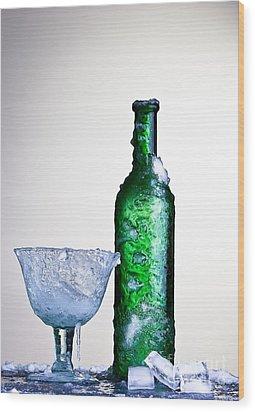 Ice Cold Drink Wood Print by Dirk Ercken