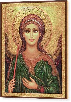 Icon Angel Wood Print