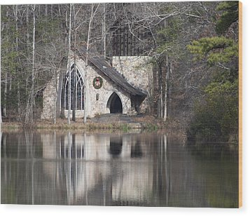 Wood Print featuring the photograph Ida Cason Callaway Memorial Chapel by Linda Geiger