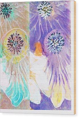 If Wood Print by Anne-Elizabeth Whiteway