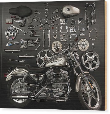 If Bling Is Your Thing Wood Print by Randy Scherkenbach