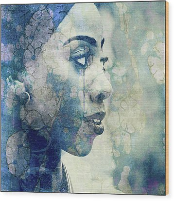 Wood Print featuring the digital art If You Leave Me Now  by Paul Lovering