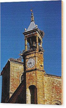 Iglesia De San Martin - Trujillo Wood Print by Juergen Weiss