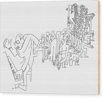 Igor Stravinsky (1882-1971) Wood Print by Granger