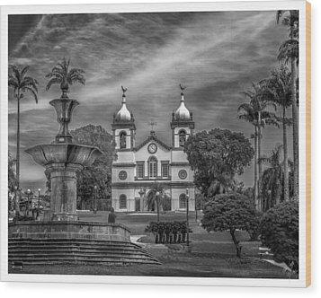 Igreja Da Matriz- Vassouras-rj Wood Print