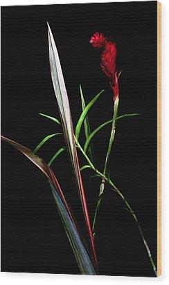 Ikebana Wood Print