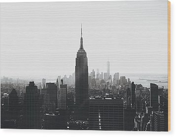 I'll Take Manhattan  Wood Print by J Montrice