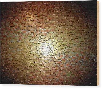 Illuminated Dream Wood Print by Daniel Lafferty