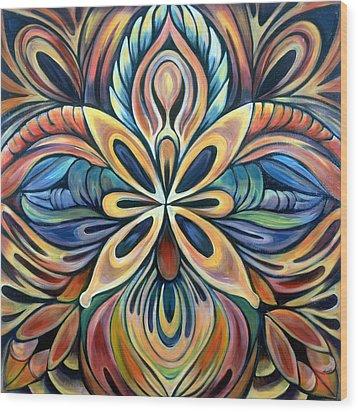 Illumination Wood Print by Shadia Derbyshire