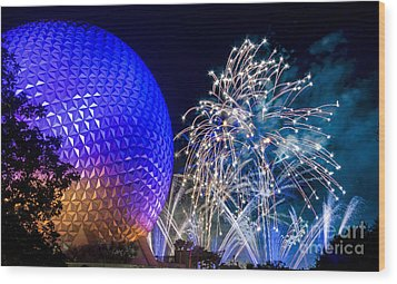Illuminations Reflections Of Earth Wood Print