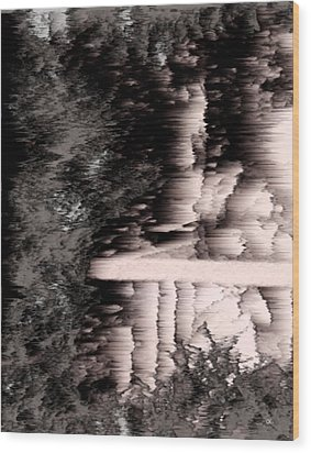 Illusion Wood Print by Gerlinde Keating - Galleria GK Keating Associates Inc