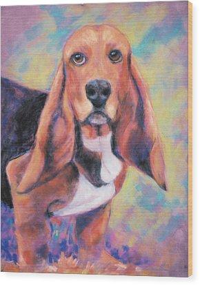 I'm All Ears Ears Wood Print by Billie Colson