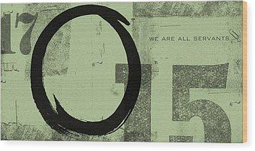 Image Of Peace Wood Print by Julie Niemela