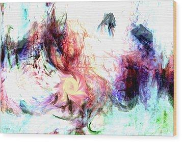 Imagination Wood Print by Linda Sannuti
