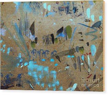 Imagine 2 Wood Print by Nancy Kane Chapman