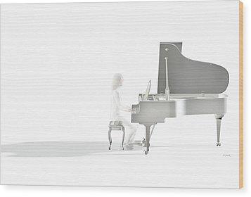 Imagine This Wood Print by Daniel Bauer