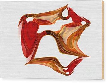 Imanination  Wood Print