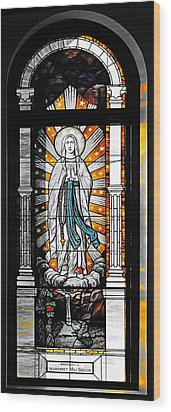 Wood Print featuring the photograph Immaculate Conception San Diego by Christine Till