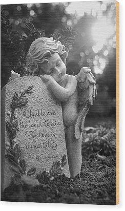 Immortality Wood Print