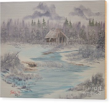 Impressions In Oil - 9 Wood Print by Bill Turck