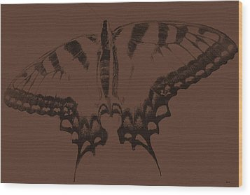 Imprints Of A Butterfly Wood Print by Debra     Vatalaro